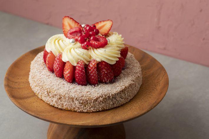 いちご パウンド ケーキ